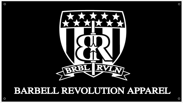 Gym Banner 3'x5' - Barbell Revolution Apparel - 1