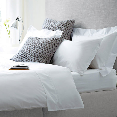 Love For White Bed Sheet - 300TC Luxury