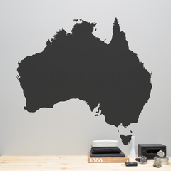 AUSTRALIA MAP DECAL