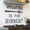 KITCHEN WALL DECAL - FUNNY QUOTE