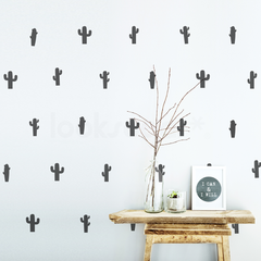 CACTUS PATTERN STICKERS