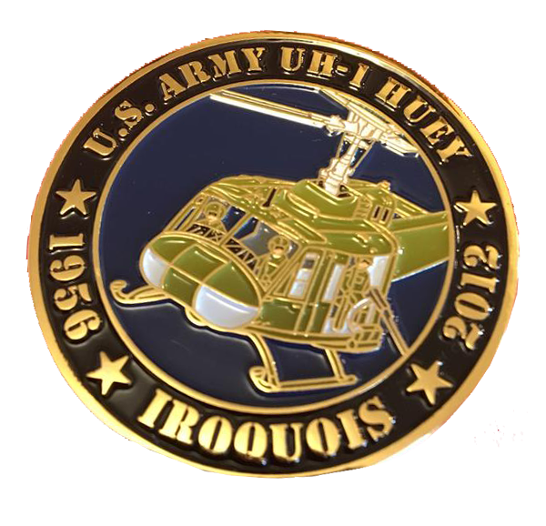 US Army UH-1 Huey Commemorative Coin
