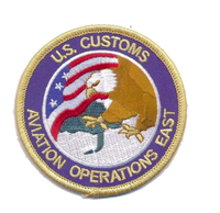 Legacy US Customs Aviation East- No Velcro