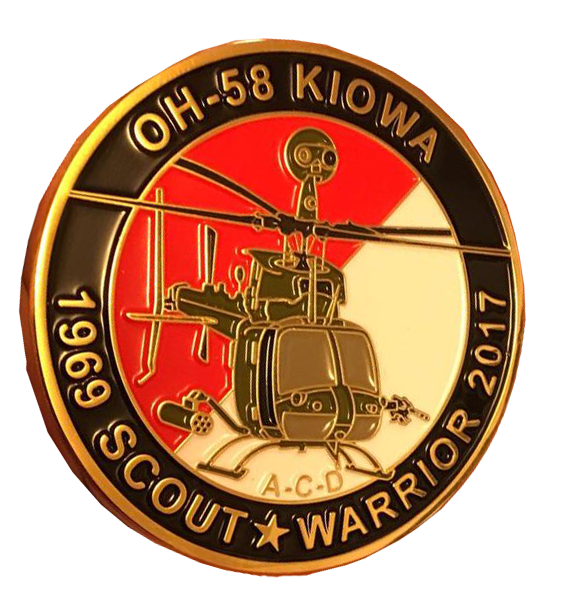 US Army OH-58 Kiowa/Warrior Commemorative Coin