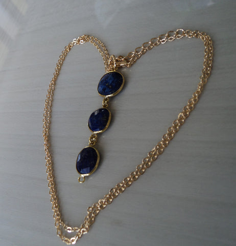 Lapis Lazuli Pendant - Protects Against Psychic Attacks, Releases Stress, Brings Harmony & Peace