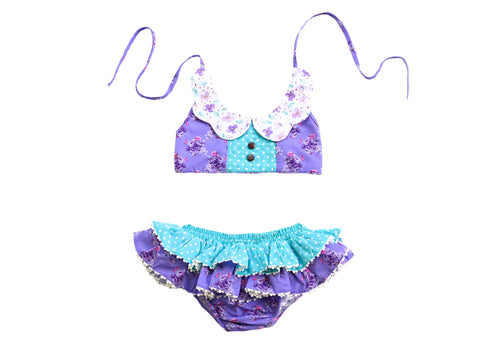 August Two Piece Sunsuit (wholesale) - Be Girl Clothing