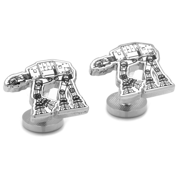 AT-AT Walker Blueprint Cufflinks-Cufflinks-Here Comes The Bling™