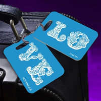 Couples Luggage Tags-Luggage Tags-Here Comes The Bling™
