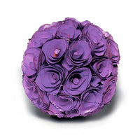 "Floral Pomander ""Kissing"" Ball - Medium-Decor-Flowers-Here Comes The Bling™"