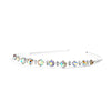 Graduated Iridescent AB Crystal & Clear Rhinestone Prom or Wedding Headband-Headband-Here Comes The Bling™