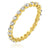 Lace Eternity Band in Gold