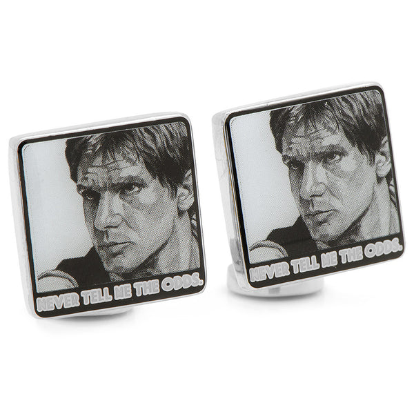 Never Tell Me The Odds Cufflinks-Cufflinks-Here Comes The Bling™