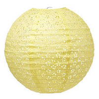 Pack of 6 Large Eyelet Paper Lantern (Available in 5 Colors)-Decor-Hanging-Here Comes The Bling™