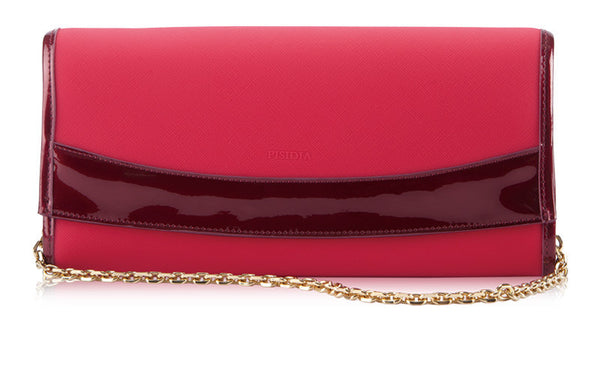 PISIDIA® DUO CLUTCH in(Available in 6 colors)-Handbags-Here Comes The Bling™