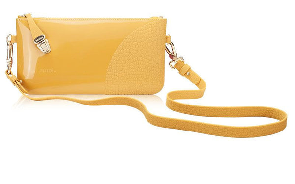 PISIDIA® SNAP CLUTCH (Available in 2 Colors)-Wristlet-Here Comes The Bling™
