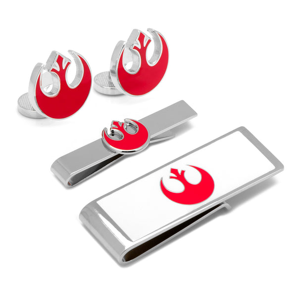 Rebel Alliance Symbol 3-Piece Gift Set-Mens 3 Piece Gift Set-Here Comes The Bling™