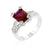 Ruby Cubic Zirconia Fashion Ring