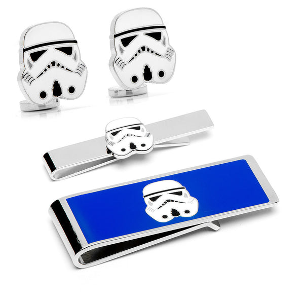 Storm Trooper Head 3-Piece Gift Set-Mens 3 Piece Gift Set-Here Comes The Bling™