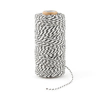 Striped Cotton Classic Twine (Available in 10 colors)-Ribbon-Here Comes The Bling™