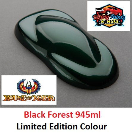Limited Edition Black Forest 945ml  SHIMRIN2 House of Kolor