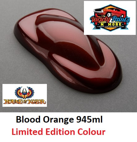 Limited Edition Blood Orange 945ml  SHIMRIN2 House of Kolor