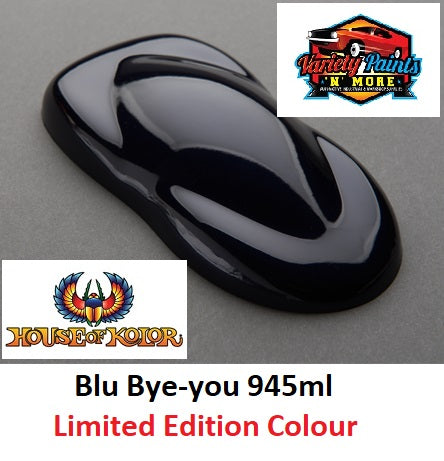 Limited Edition Blu Bye-you 945ml  SHIMRIN2 House of Kolor