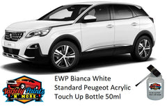 EWP Bianca White Standard Peugeot Acrylic Touch Up Bottle 50ml