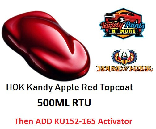 House of Kolor K11 Apple Red Urethane Kandy 500ML RTU