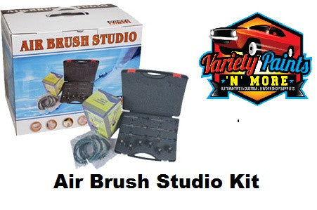 Air Brush Studio Kit 6 Brushes