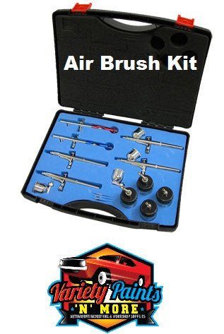 Air Brush Kit 6 Brushes