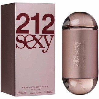 212 Sexy by Carolina Herrera For Women Eau de Parfum Spray 3.4 oz.