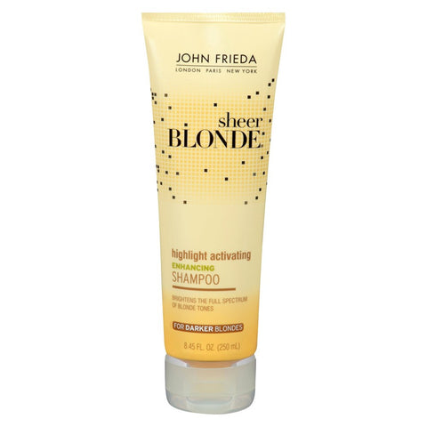 John Frieda Shee Blonde Highlight Activating Enhancing Shampoo 8.45 oz
