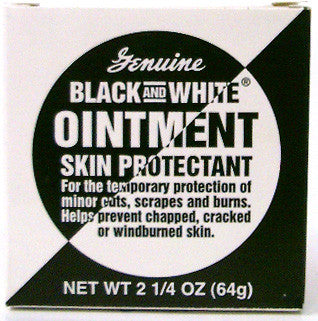 Black and White Ointment Skin Protectant Net Wt. 2.25 Oz. (64 g)