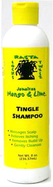 Jamiacan Mango & Lime Tingle Shampoo 8 oz