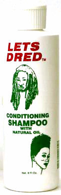 Lets Dred Conditioning Shampoo w/ Natural Oil 8 Oz.