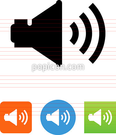 Audio Speaker Icon