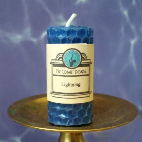 Lightning Mini Candle