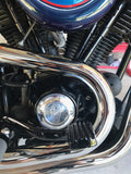 Ride Till Dead 2-Hole Billet Points Cover - Polished