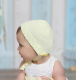 Knitted Cotton Baby Bonnet | Foque