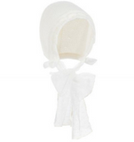 Cream Ceremony Bonnet
