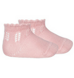 Perle Fancy Openwork Short Socks Newborn