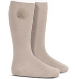 Fluffy Pom Pom Socks - Classical Child  - 1