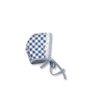 Blue Check Bonnet - Classical Child  - 1