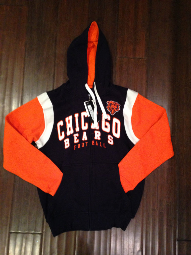 NFL Chicago Bears Scrimmage Full Zip Hooded Sweatshirt