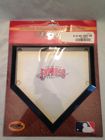 MILB Round Rock Express Mini Home Plate