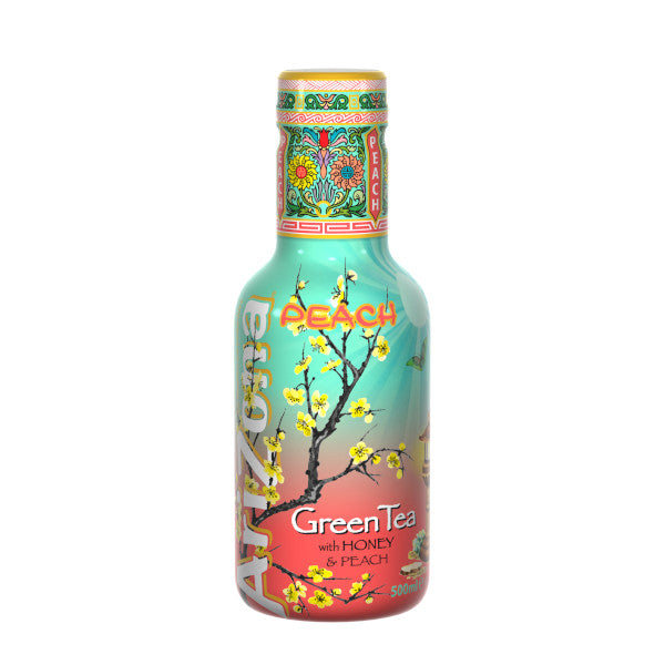 Arizona Green Tea Peach (Pesca) 500ml Pet