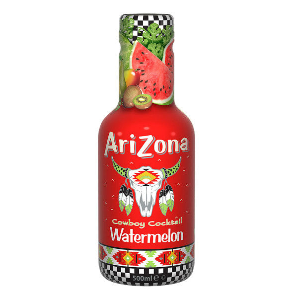 Arizona Cowboy C. Watermelon 500ml Pet