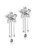 Metallic Orchids (Silver)