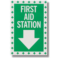 """First Aid Station"" Arrow Decal"