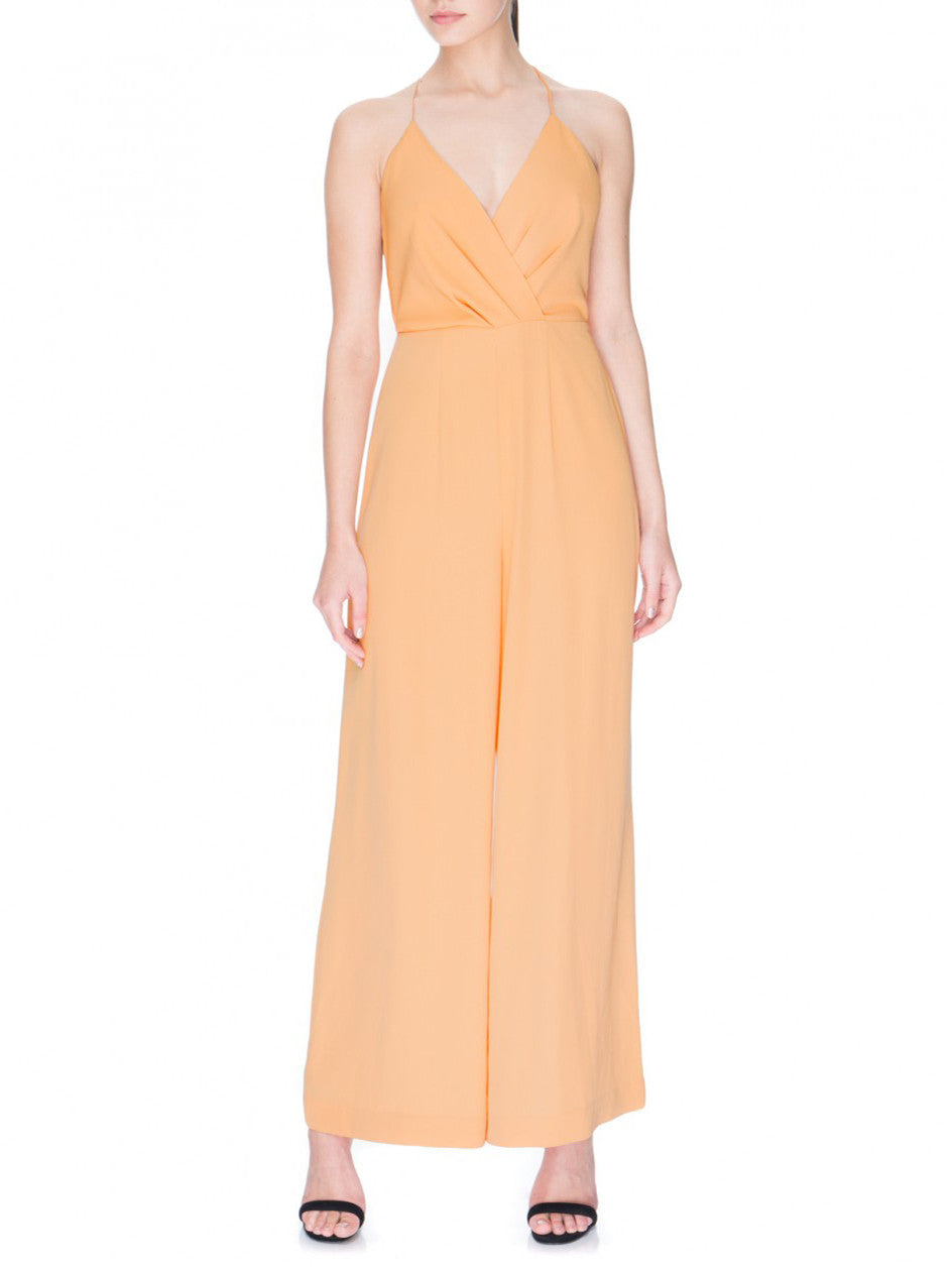 Rescue Me Jumpsuit Caramel - PRADEGAL